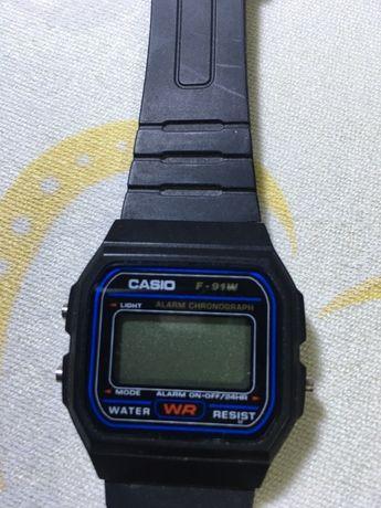 Часы casio 593 F-91w