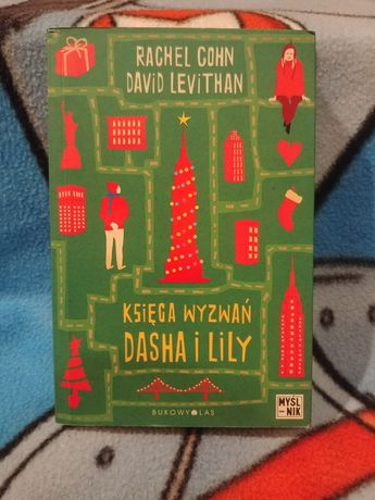 Księga wyzwań Dasha i Lily - Rachel Cohn, David Levithan