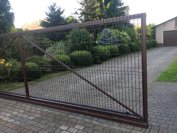 Brama przesuwna panelowa 5 m