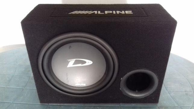 Głośnik tuba basowa Alpine