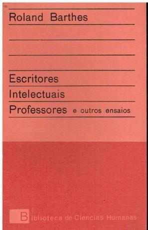 7549 Escritores, intelectuais, professores e outros ensaios de Roland