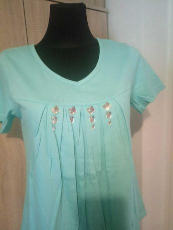 Nowa bluzka kolekcja miętowa