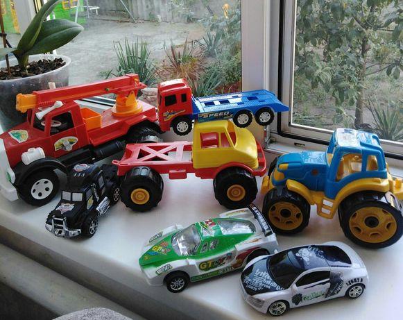 Машина Машины Трактор для мальчика. Моя упаковка