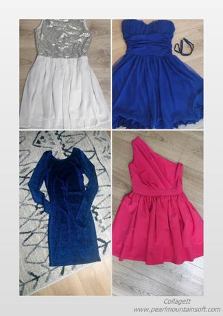 Sukienki, rozmiar XS, S