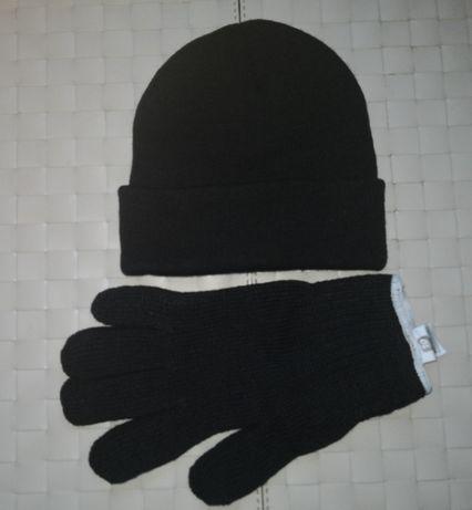 Unisex kpl czapka + rękawiczki dobra cena