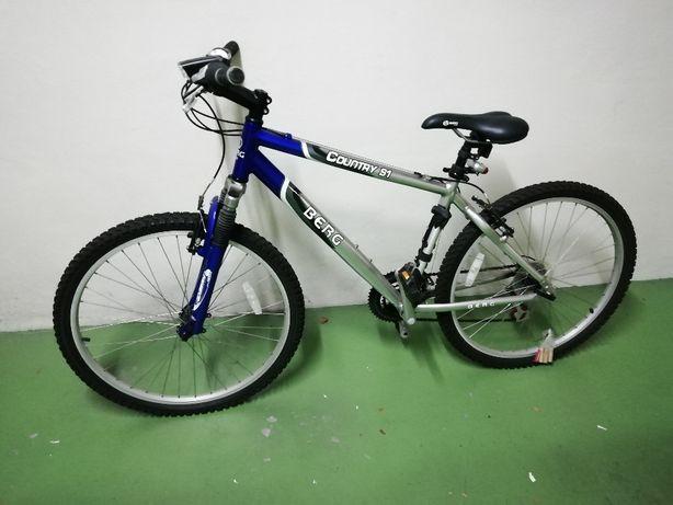 Bicicleta Berg Outdoor Country S1 cinza e azul
