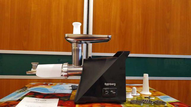 Электро - Мясорубка Rainberg |3000 Вт + Сок, шнековая RB-679