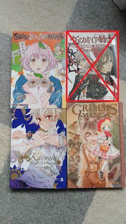 Mangi Karneval, Vampire Knight, Grimms Manga, Miłość Jenoty, Alicja