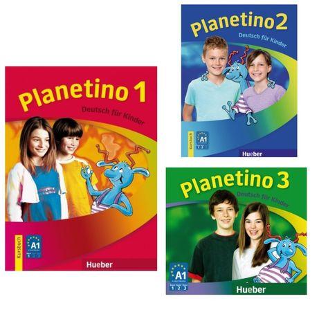 Друк книг Planetino 1,2,3