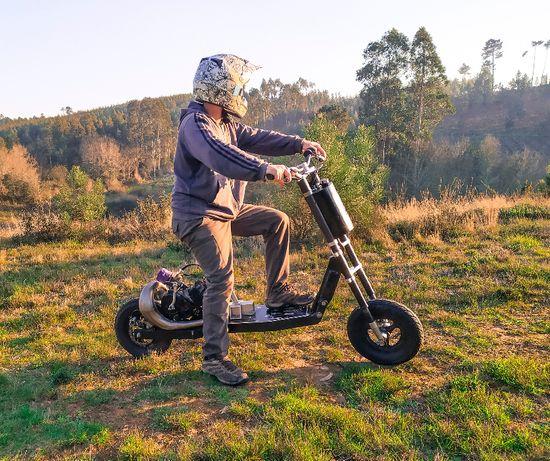 Trotinete a gasolina Americana (rara) Bigboy Scooters V6MX