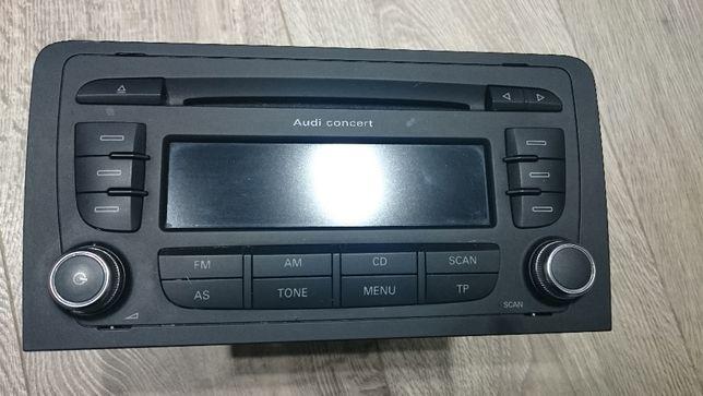Radio AUDI A3 A4 CONCERT CD 2007 r.