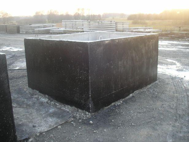 Szambo, zbiorniki betonowe na deszczówkę, szamba-Montaż