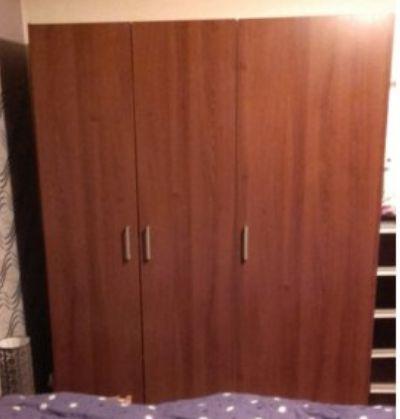 PILNIE Sprzed DUZa Szafa 3 drzwi czy 3-drzwiowa z wieszakiem i półkami
