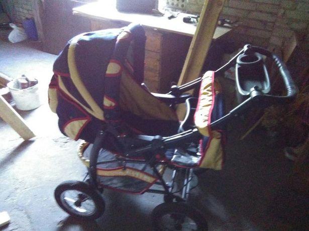 Wózek dziecięcy granatowy