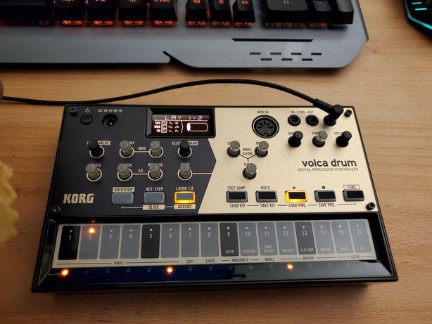 Korg Volca Drum драм-синтезатор драм-машина