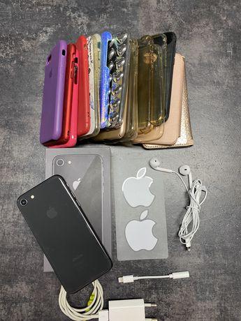 Iphone 8, 64gb gwiezdna szarość
