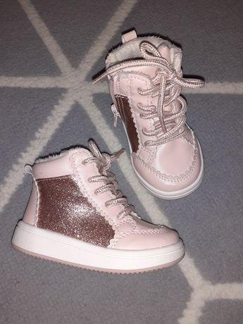 Śliczne buty dziewczynka 18/19 h&m gratis wysyłka