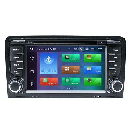 Rádio Android 10 Audi A3 8p WiFi Bluetooth GPS USB Mirror Link etc