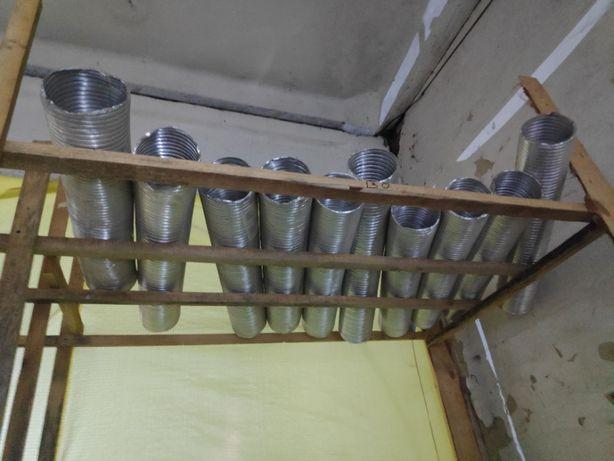 Гофра алюмінієва труба 130 180 315 мм 3м 120мкн