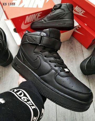 Зимние мужские ботинки Nike с мехом. Размеры - 41, 42, 43, 44, 45, 46