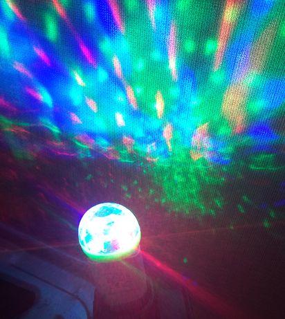 Лампа USB для домашней дискотеки