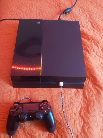 Konsola PS4 500GB z padem i kablami