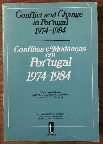 conflitos e mudanças em portugal 1974 a 1984, eduardo sousa ferreira