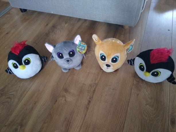 Słodziaki 4 sztuki miśki zabawki gratis 2 małe miśki