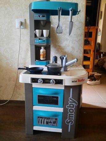 Детская кухня smoby tefal