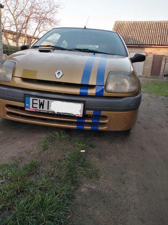 Renault Clio II projekt na tor