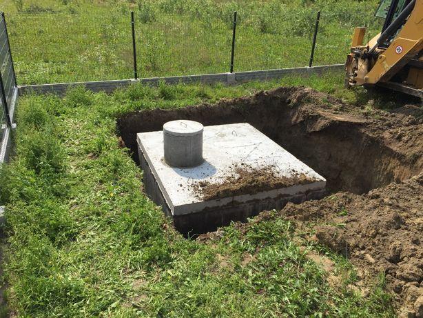 Szamba szambo zbiorniki betonowe na deszczówkę gnojowice piwnice