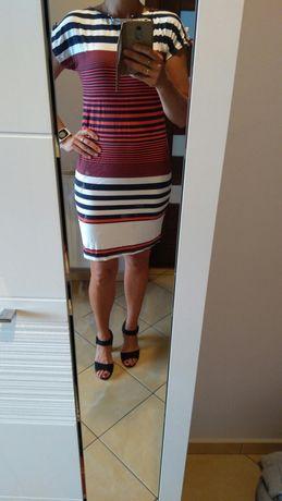Sukienka letnia w paski M/L