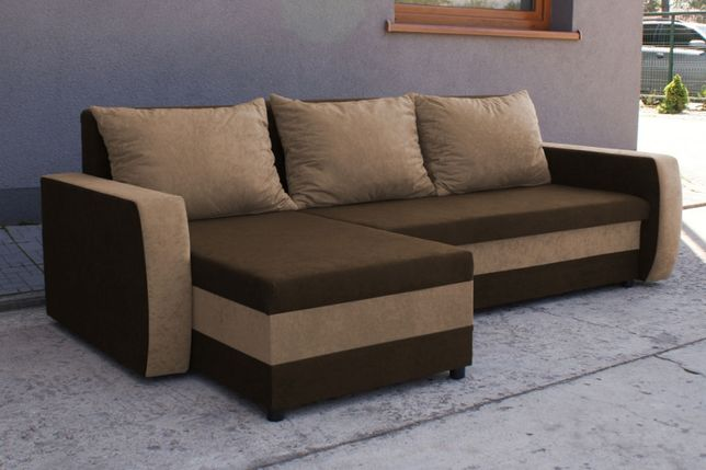 Narożnik Saturn Kanapa Sofa rogówka z funkcją spania