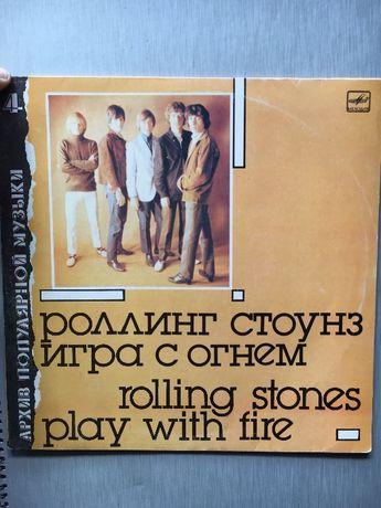 Продам абсолютно новую пластинку Rolling Stones Play with fire Мелодия
