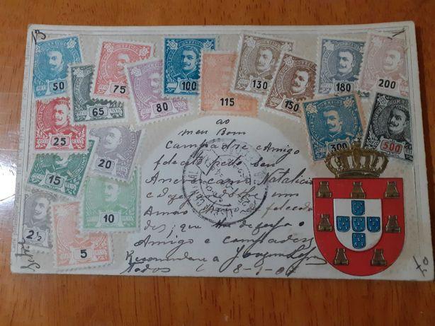 2 postais antigos
