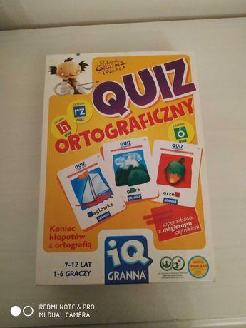 Gra Quiz ortograficzny Granna