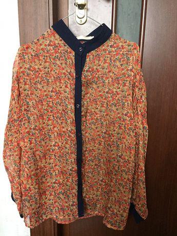Шифоновая блузка 46 размер