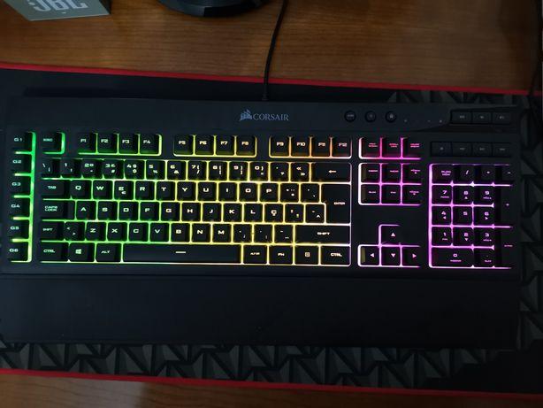 Teclado Gaming Corsair K55 RGB