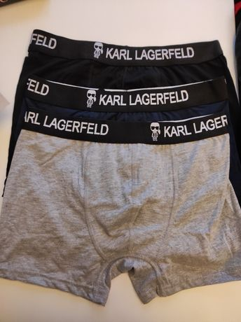 Bokserki Męskie 3-Pak Karl Lagerfeld M-XXL PREMIUM