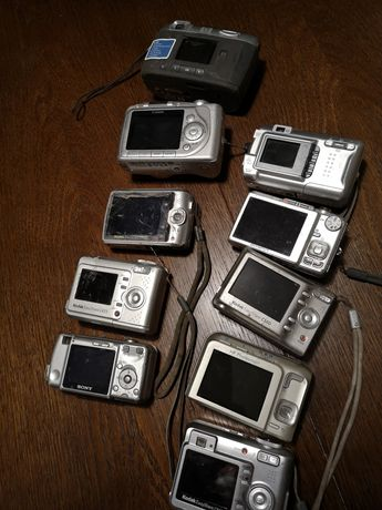 Aparat Aparaty fotograficzny cyfrowy Kodak Canon Sony HP Olimpus FineP