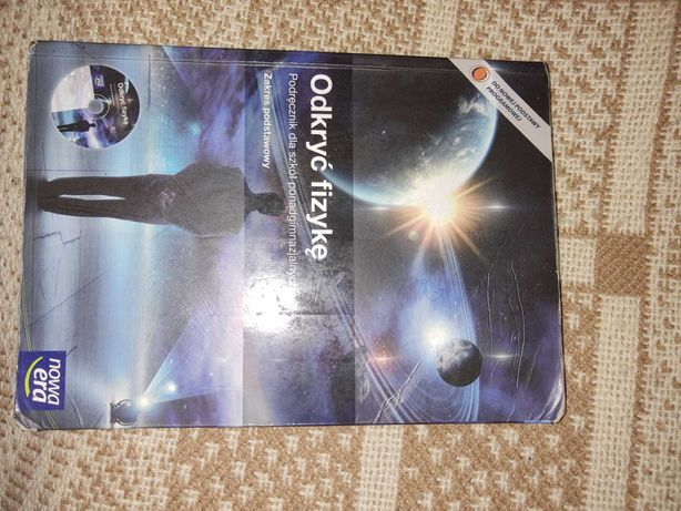 Podręcznik do fizyki,, odkryć fizykę,, szkoła ponadgimnazjalna