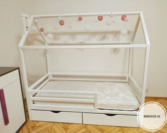 СУПЕР ЦЕНА!! Детская кровать. Кроватка домик. В НАЛИЧИИ! 160*80 см