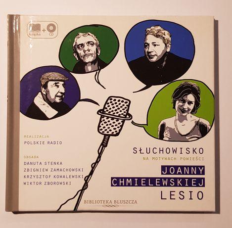 "Joanna Chmielewska ""Lesio"" słuchowisko na CD"