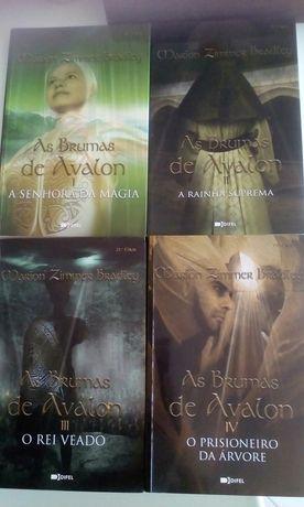 As brumas de Avalon. Marion Zimmer Bradley