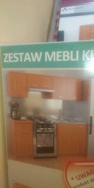 nowy zestaw mebli kuchennych