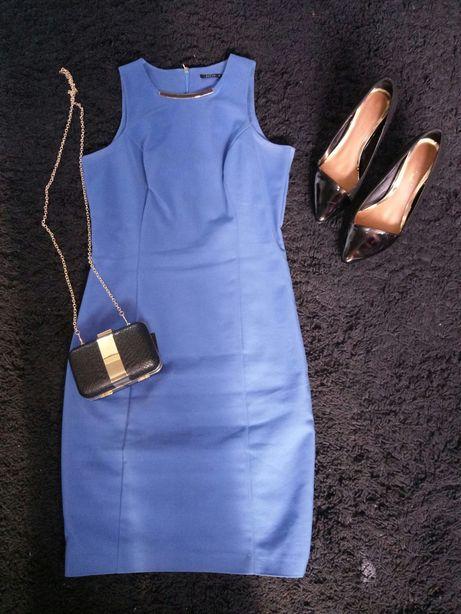 Sukienka midi Mohito, bez rękawów