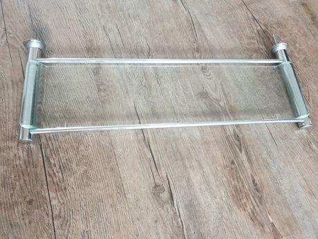 Półka szklana pod lustro