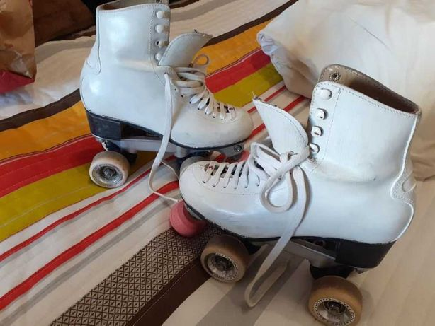 Patins + capas para patinagem artística