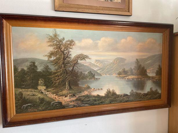 Obraz 110x60 cm pejzaż w ramie