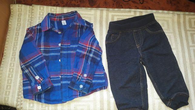 Штанишки H&M, Carters, рубашки байховые оптом дешево